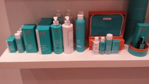 Moroccanoil products available at Peter Marcus salons