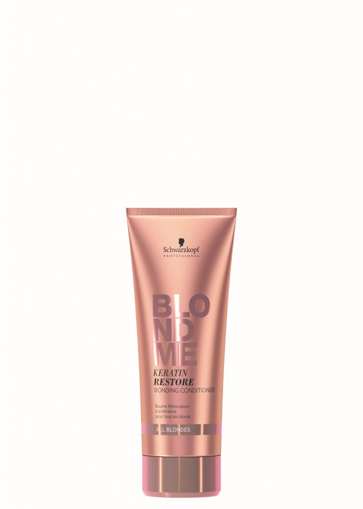 Schwarzkopf Blond Me - All Blondes Bonding Conditioner available in salon at Peter Marcus