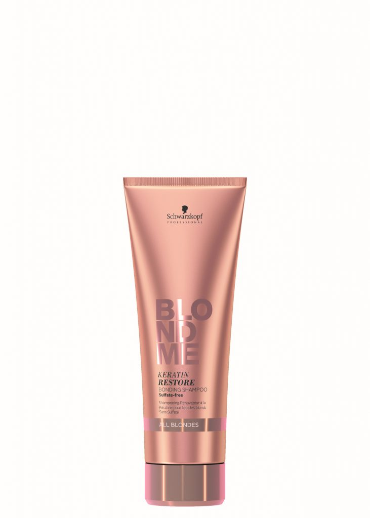 Schwarzkopf Blond Me - All Blondes Bonding Shampoo available in salon at Peter Marcus