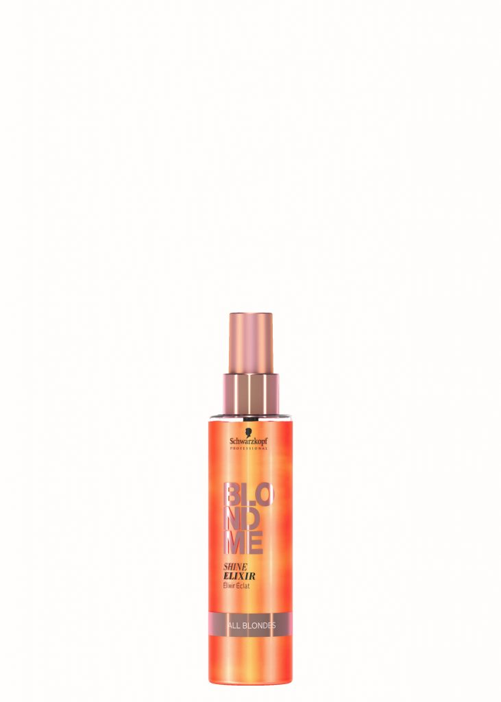 Schwarzkopf Blonde Me - All Blondes Elixer Spray available in salon at Peter Marcus