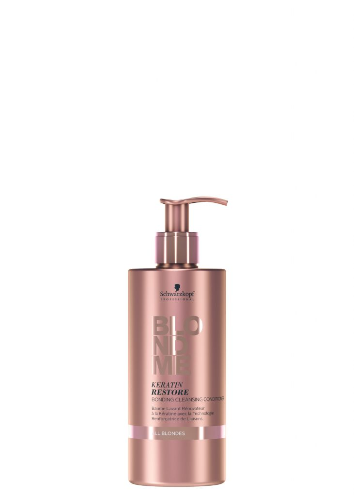 Schwarzkopf Blond Me - All Blondes Cleansing Conditioner available in salon at Peter Marcus