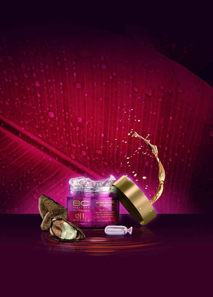 Schwarzkopf BC Oil Brazilnut Oil Booster available at Peter Marcus