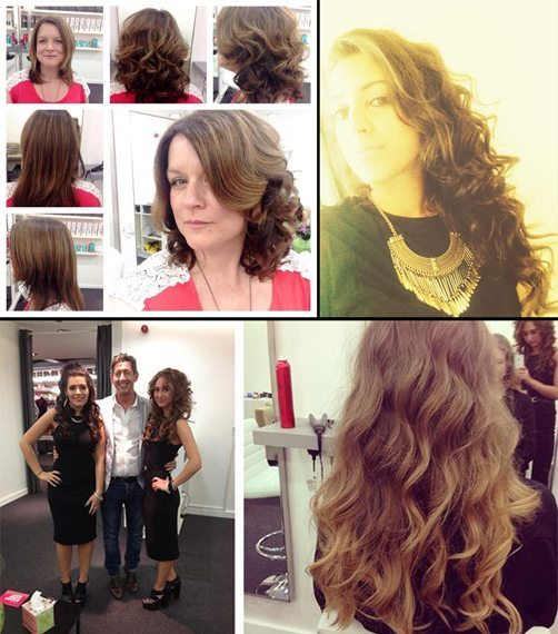 blow dry bar manchester customers