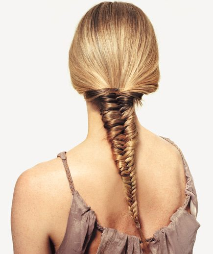 Wedding hairstyles 2014 peter marcus hairdressing for Fish tail hair