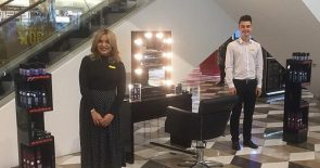 Selfridges Manchester hair salon